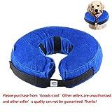 Aufblasbarer Halsband für Haustier Hund Katze, KOBWA Wiederherstellung Hundekragen Weiches Schutzhalsband (S)