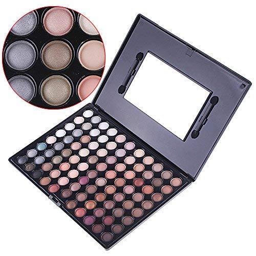 Anself Ultra Make-up 88 Farben Eyeshadow Palette Lidschatten Eyeshadow warme Farbe -