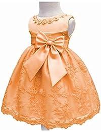 LZH Vestito da Battesimo della Festa Nuziale da Vestito di Compleanno delle  Ragazze da Bambino a725ffa0ef3