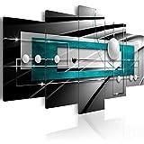 murando - Bilder 200x100 cm - Vlies Leinwandbild - 5 Teilig - Kunstdruck - Modern - Wandbilder XXL - Wanddekoration - Design - Wand Bild - Abstrakt Kugel a-A-0209-b-p