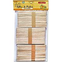 131898 - Pack de 300 palitos de madera, tamaño 15x1,8cm
