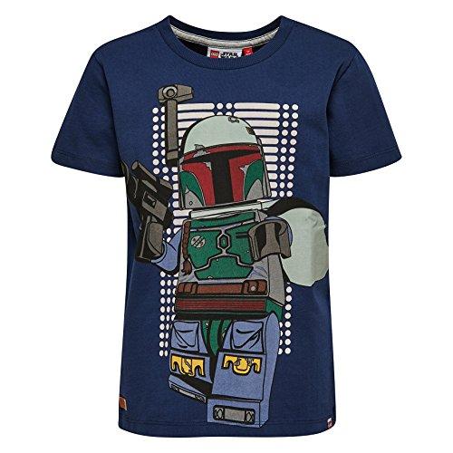 LEGO Wear Jungen Lego Star Wars Teo 150-T-Shirt, Blau (Dark 589), 122 (122) Preisvergleich