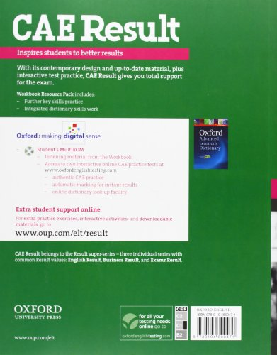 CAE Result Workbook Resource Pack (Cambridge Advanced English (Cae) Result)