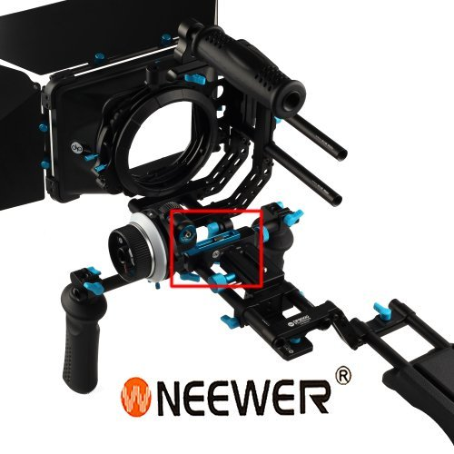 Neewer® Dp3000 Offset Riser Rail Block Rod Clamp For 4pcs 15mm Rod Dslr Rig Rail