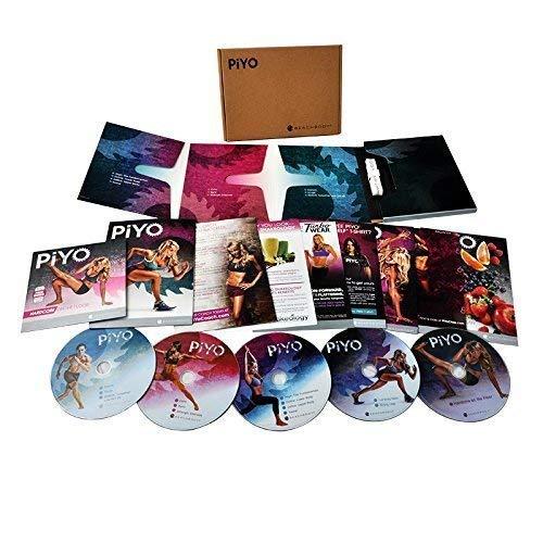 Calendario De 21 Day Fix Extreme.Wanmin Piyo Base Kit 5 Dvds Workout Unidad De Disco Optico