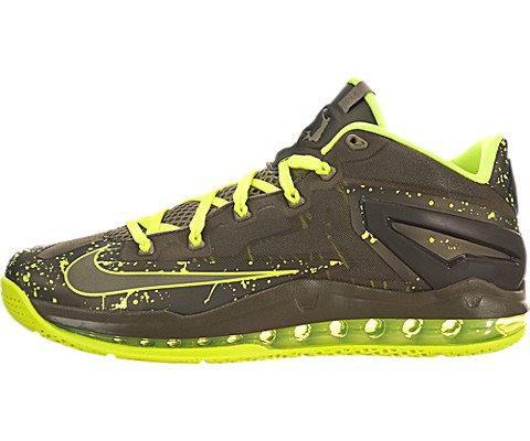 Nike Schuhe Herren Max Lebron xi Low MDM KhakiMDM khk VLT MDM OLV, Größe 13