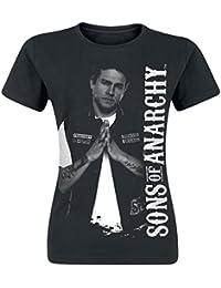 Sons of Anarchy Jax Teller Girls Shirt Black