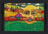 Kunstdruck / Poster: Friedensreich Hundertwasser