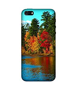 chnno nature 3d Printed Back Cover For Apple iPhone 5s