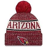 New Era ONF18 Sport Knit Bommelmütze Arizona Cardinals Rot, Size:ONE Size