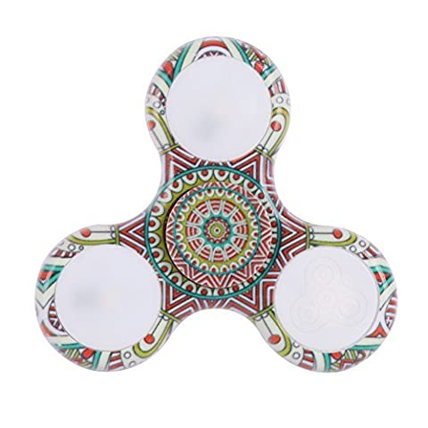 Fairlove LED Lighting Fashion Fidget Hand Spinner Toy, Aide pour