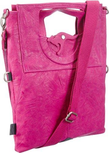 KangaROOS Damen JEAN cliffhanger (set) B0171, Schultertaschen 32x40x3 cm (B x H x T), Pink (lillipilli) -