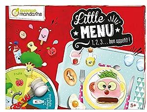 Avenue Mandarine - Little Menu, Juego para aprender a comer sano (JS004C)