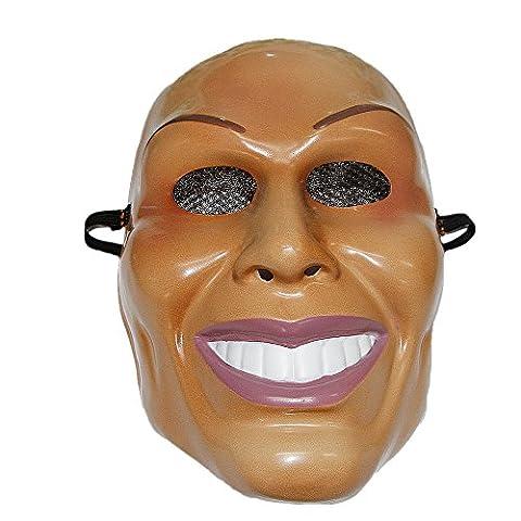 The Purge Wahl Jahr LED Leuchtend Maske fest Halloween Kostüm Liberty Kostüm von The Rubber Plantation TM - Säuberung (Purge-kostüme Für Halloween)