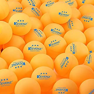 KEVENZ 3-Star 40mm Orang Table Tennis Balls,Advanced Training Ping Pong Balls (Practice ping-pong Ball) by KEVENZ