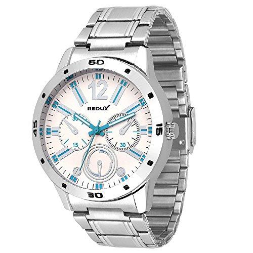 Redux-Force-Analog-White-Blue-Dial-Mens-Boys-Watch-RWS0001S