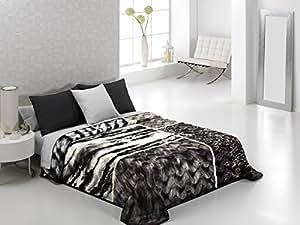 luxe pais souple chaud confortable couverture en fausse fourrure couvre lit imprim animal. Black Bedroom Furniture Sets. Home Design Ideas