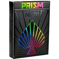 Elephant Playing Cards Cartas Prism Night – Increíbles Cartas Negras con Brillo UV, Colores Brillantes del Arco Iris y Calidad Inigualable. Tamaño Estándar de Cartas de Póker