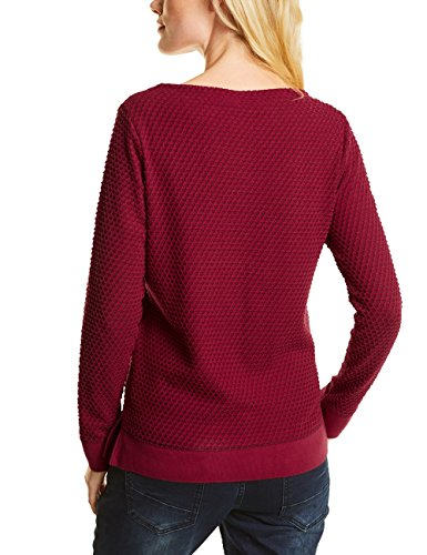 Cecil Damen Pullover Rot (Cranberry Red 21088)