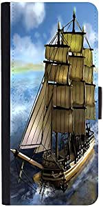 Snoogg Sailor'S Delight Designer Protective Flip Case Cover For Samsung Galax...