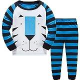 Baby Pyjama Baumwolle Kleinkind Jungen Kinder Tiger Nachtwäsche Nachtwäsche Pyjamas Set 5 Jahre