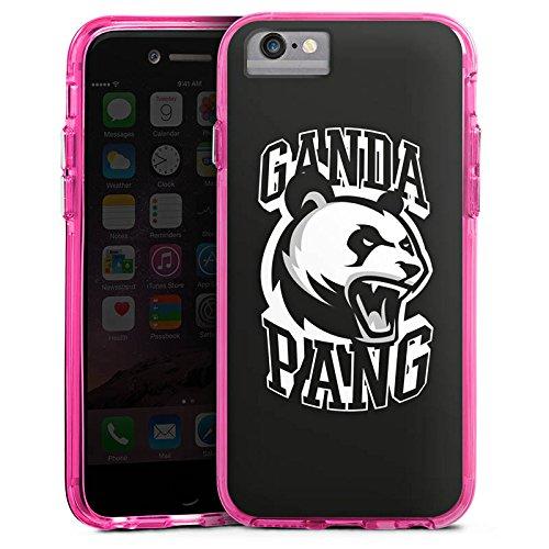 Apple iPhone 7 Bumper Hülle Bumper Case Glitzer Hülle Cro Merchandise Fanartikel Merchandising Pour Supporters Bumper Case transparent pink