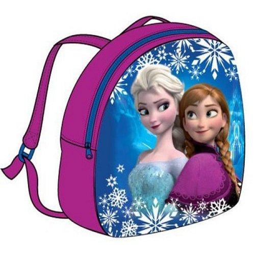 Sac à dos LA REINE DES NEIGES Disney Frozen, surgelés * 26,5* 22,5*6,5cm / rose * NEUF *