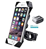 #2: Universal Bike Mobile Holder for Motorcycle Bicycle Cell Phone Cradle Mount 360 Degree Rotating Support All Size Mobile Phones