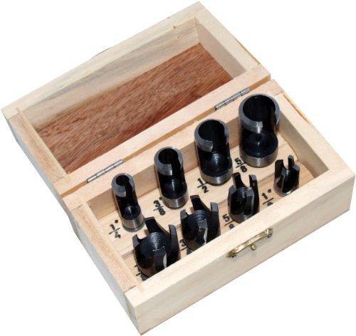 Plug Cutter (Am-Tech 8 Stück Plug Cutter Set, F3620)