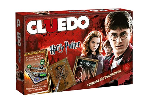 Winning Moves 10944–Cluedo Harry Potter Collector's Edition
