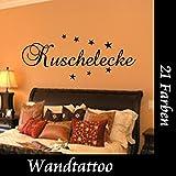 Kuschelecke Größe 100cmx 24cm Wandtattoo Sticker Wallsticker Wohnzimmer Schlafzimmer Judendzimmer