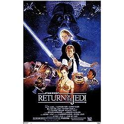 Grupo Erik Editores Poster Star Wars El Retorno Del Jedi
