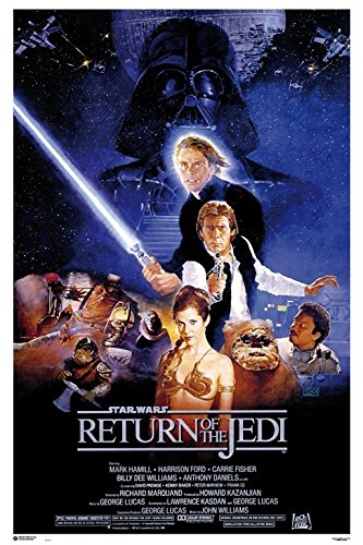 Erik Publishers Group GPE 4675 Poster Star Wars Return of The Jedi One Sheet, 61 x 91.5 cm