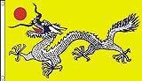 b010137Chinesischer Drache Flagge, mehrfarbig, 24x 1x 23cm