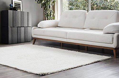 Perla Möbel Bereich, Teppich, Polypropylen, Creme, 3'x 8' - 8' Creme Bereich Teppich