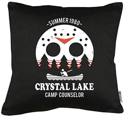 TLM Camp Crystal Lake Kissen mit Füllung 40x40cm Camp Crystal Lake