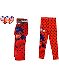 Leggings Miraculous Ladybug Legging niños, pantalones estrechos Stretchy, pantalones para las niñas