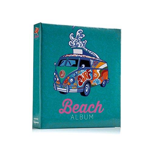 15,2x 10,2cm Einsteckalbum (Strand-szene Hintergrund)