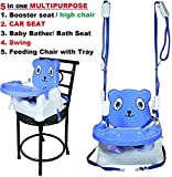 #1: Trugoods Baby Booster Seat/Swing Multipurpose Kids Feeding High Chair