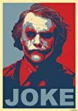 great-art Red Blue Poster Joke - 85 x 60cm Wandposter Joker Batman the dark knight why so serious Wandbild