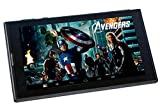 Disney Tablet Marvel Avengers with stylish Flip Case (7 inch, 8GB, Wi-Fi + 3G + Voice Calling + Dual Sims), Black