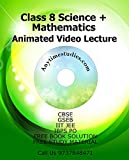 #9: Anytimestudies Class 8 Science + Mathematics Animated Video Lecture in Hindi&English (DVD)