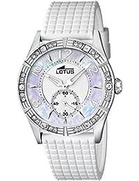 38afddb2ba08 Lotus 15737 1 - Reloj analógico de cuarzo para mujer con correa de plástico