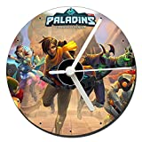 MasTazas Paladins Champions of The Realm Reloj CD Clock 12cm