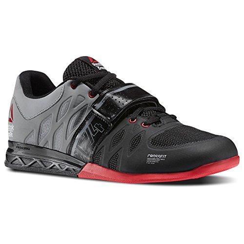 Flex-lifter (Reebok Crossfit Lifter 2.0Training Schuhe Herren Schwarz/Grau Gym Fitness Trainer, Herren, schwarz / grau, 38.5 EU)