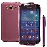 Funda de silicona Gel funda con tapa para Samsung Galaxy Grand 2SM-G7100SM-G7102SM-G7105SM-G7106