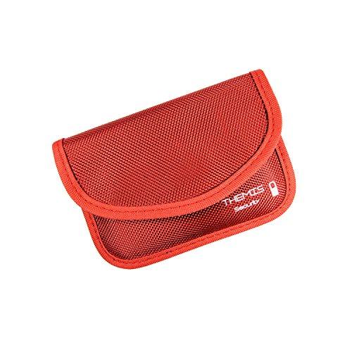 Protection de fr/équence en Aluminium RFID Blocker Housse Rouge Noir RS M GETROC Keyless Go Protection antivol pour Voiture et Moto Bo/îte de Protection Anti-vol