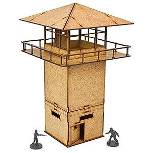 Mantic Games MGWD017 - Juego de esparcidores de la Torre de la prisión, Color marrón