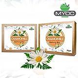 Myoc Chamomile Extract, Vitamin E and Glycerine Soap for Sensitive Skin, Dry Skin