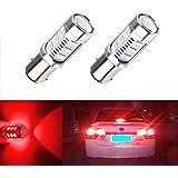 S & D Coche Luces 12SMD Cree XPE LED Auto Freno de cola Bombillas 12V-24V (2unidades)